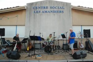 Concert au centre social des Amandiers